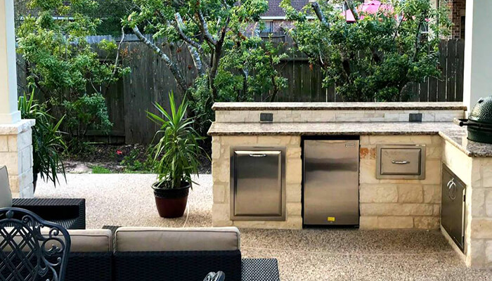 Outdoor Kitchens | Cypress Patio Covers